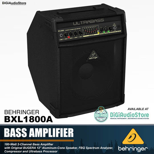 Behringer Ultrabass BXL1800A Bass Amplifier