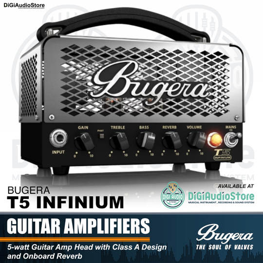 Bugera T5 Infinium 5 Watt Guitar Tube Head Amplifier