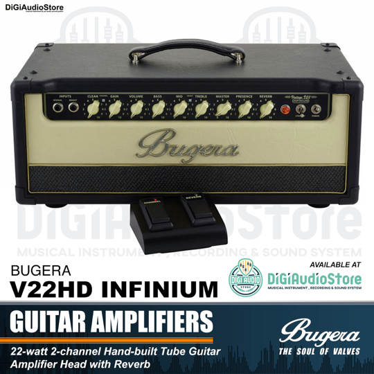 Bugera V22HD INFINIUM 22 Watt Guitar Tube Head Ampifier
