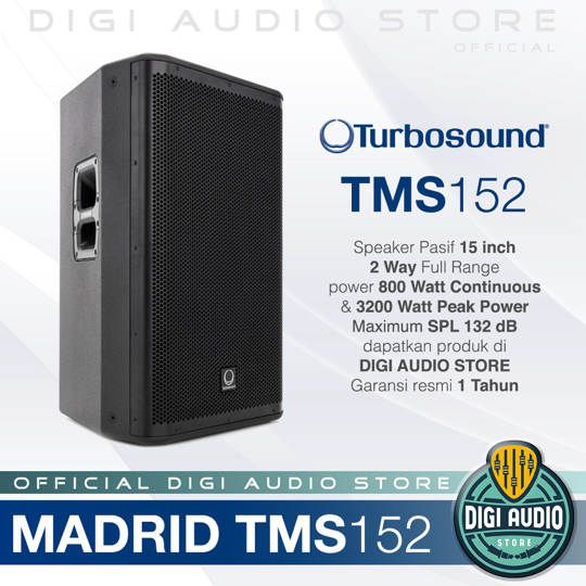 Turbosound Madrid TMS152 Speaker Pasif 2 Way 15 inch