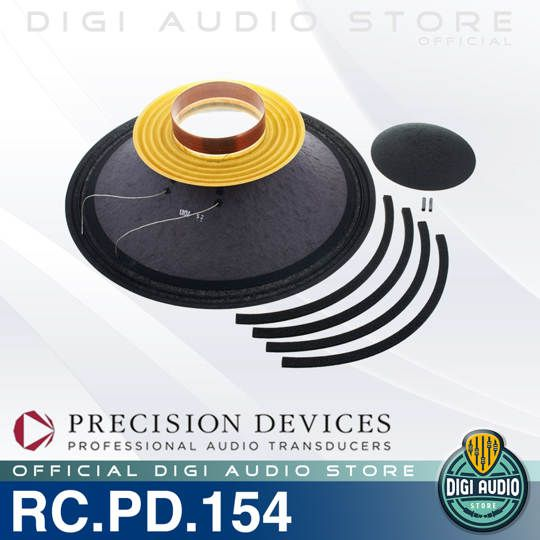 Recone Kit / Daun Speaker Komponen Precision Devices PD.154