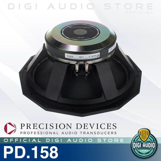 Precision Devices PD.158 Sub Bass Driver Speaker Komponen