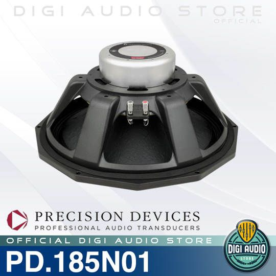 Speaker Komponen Precision Devices PD.185N01 Sub Bass Driver 18 inch 1000 Watt