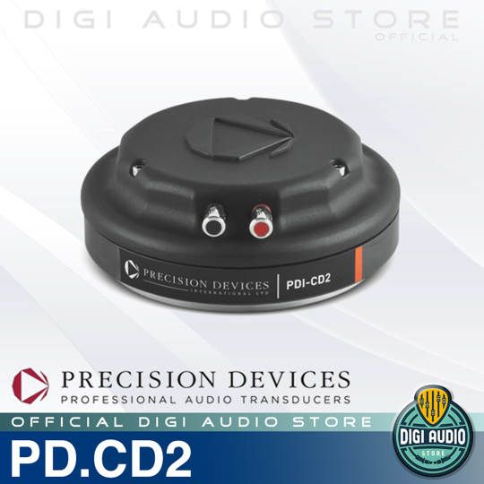 Precision Devices PD.CD2 - 2 inch 105 Watt Speaker Komponen