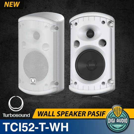 Turbosound Impact TCI52-T-WH Speaker Dinding Pasif Indoor 5 inch 240W