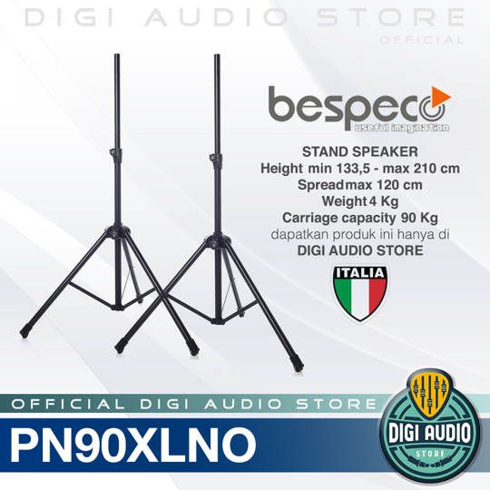 Bespeco PN90XLNO Professional Stand Speaker