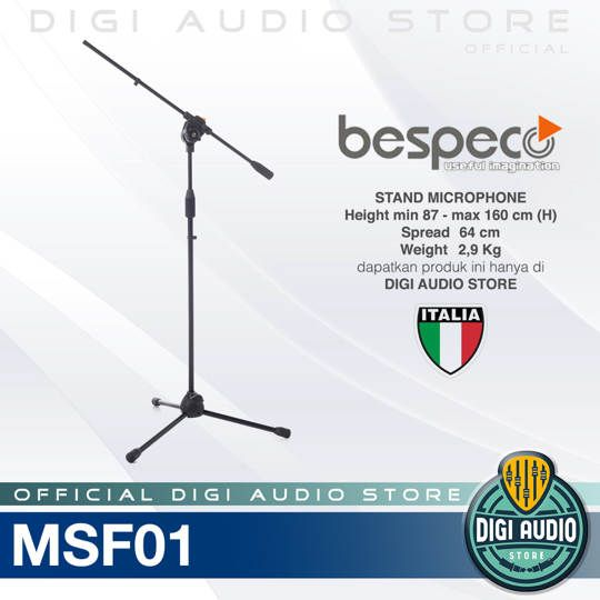 Bespeco MSF01 Professional Stand Microphone