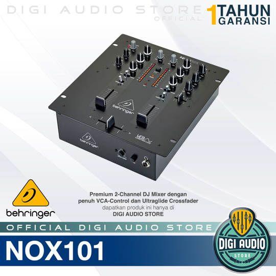 Behringer Pro Mixer NOX101 2 channel DJ Mixer
