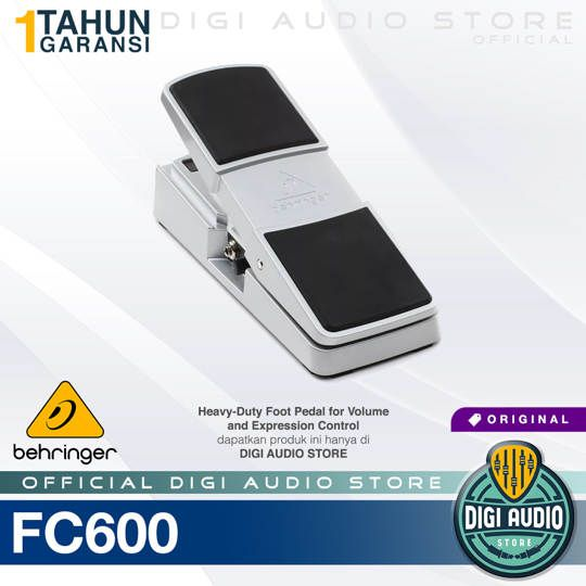 Behringer FC600 Heavy Duty Foot Pedal Volume and Expression Control
