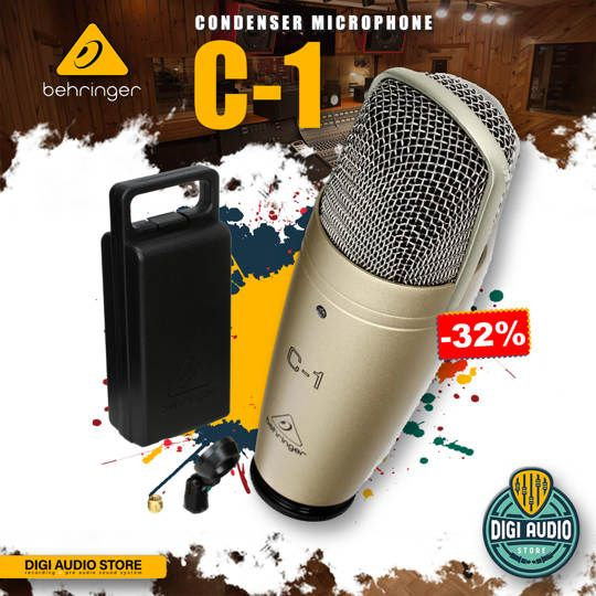 Microphone Condenser Behringer C-1 For Recording & Live