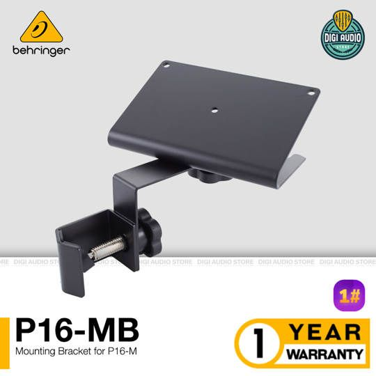 Stand Mounting Bracket Behringer P16-MB untuk Audio Mixer Powerplay P16-M
