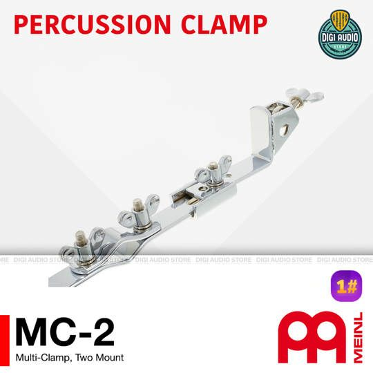 Meinl MC-2 Percussion Multi Clamp 2 Mount - Mounting Stand Block Cowbell Tambourine Percussion