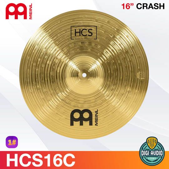Cymbal Drum 16 inch Crash Meinl HCS - HCS16C