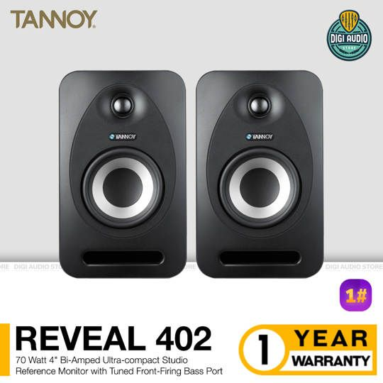 Speaker Studio Reference Monitor TANNOY Reveal 402 - 4 inch 70 Watt