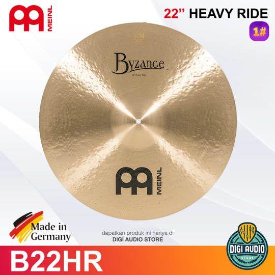 MEINL Cymbal Byzance Traditional 22 inch Heavy Ride B22HR