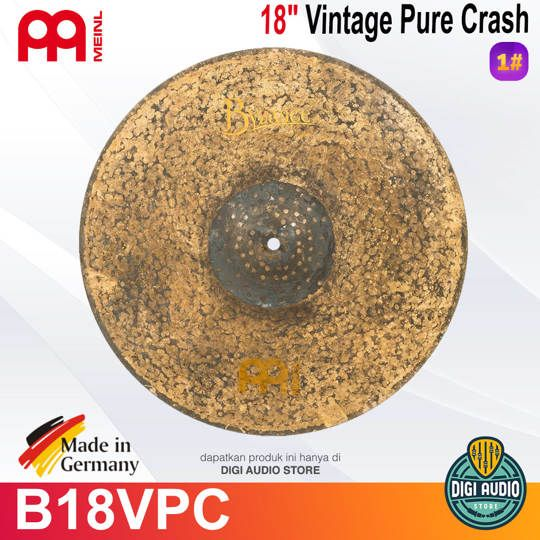 Meinl B18VPC 18 inch Byzance Vintage Pure Crash Cymbal