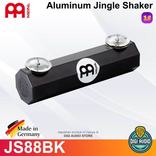 Meinl Percussion ALUMINIUM JINGLE SHAKER JS88BK