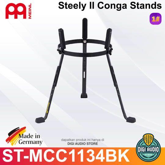 MEINL STEELY II CONGA STAND FOR MARATHON CLASSIC SERIES & FOR MARATHON DESIGNER SERIES & FOR LUIS CONTE ARTIST SERIES - ST-MCC1134BK