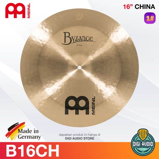 Cymbal Drum 16 inch China MEINL Byzance Traditional - B16CH