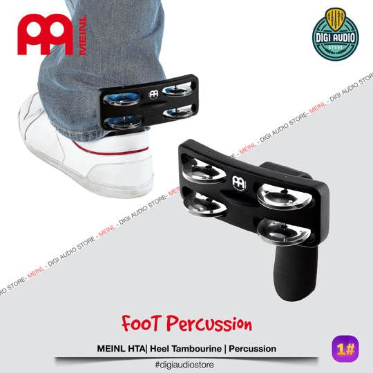 Heel Tambourine - MEINL HTA - Foot Percussion