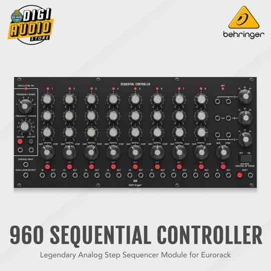Behringer 960 SEQUENTIAL CONTROLLER Analog Sequencer Module Eurorack