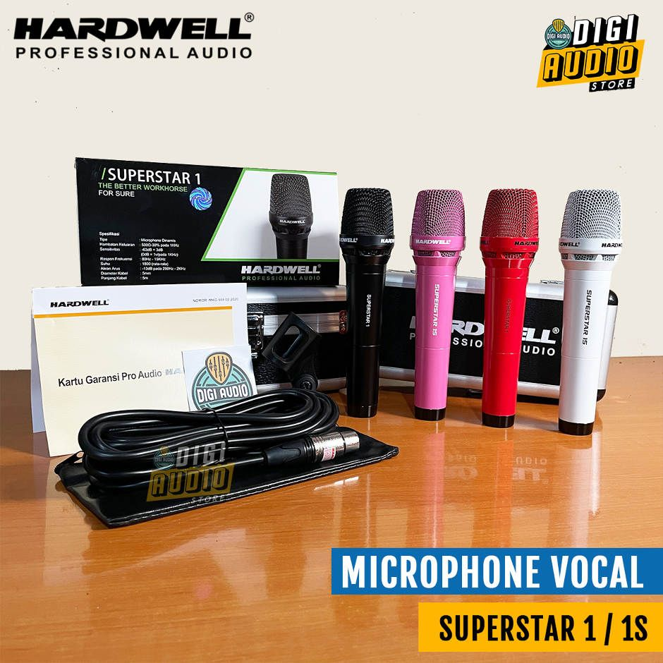 Hardwell Superstar 1 / 1S - Microphone Cable - Mic Kabel