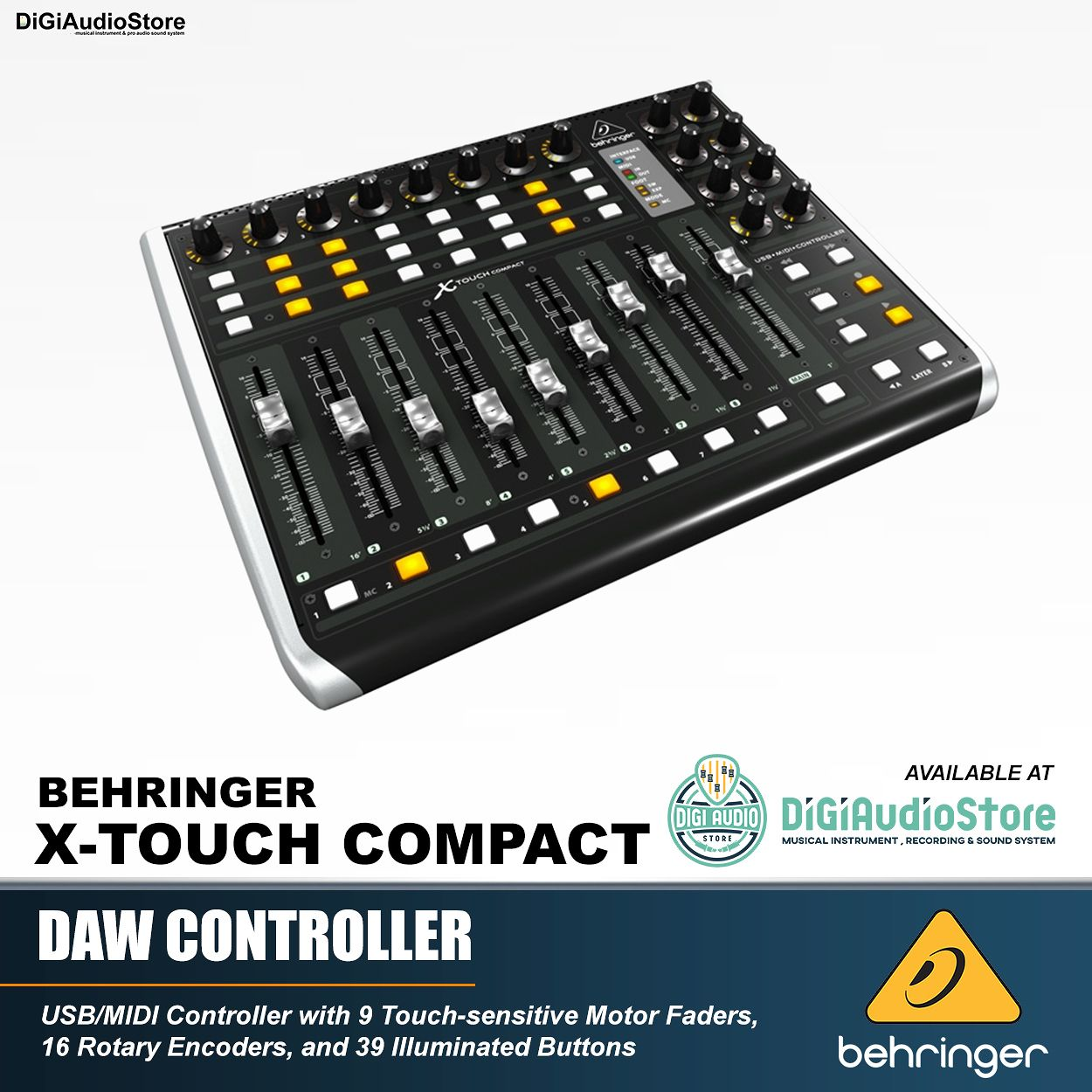 SEKILAS BEHRINGER X-TOUCH COMPACT