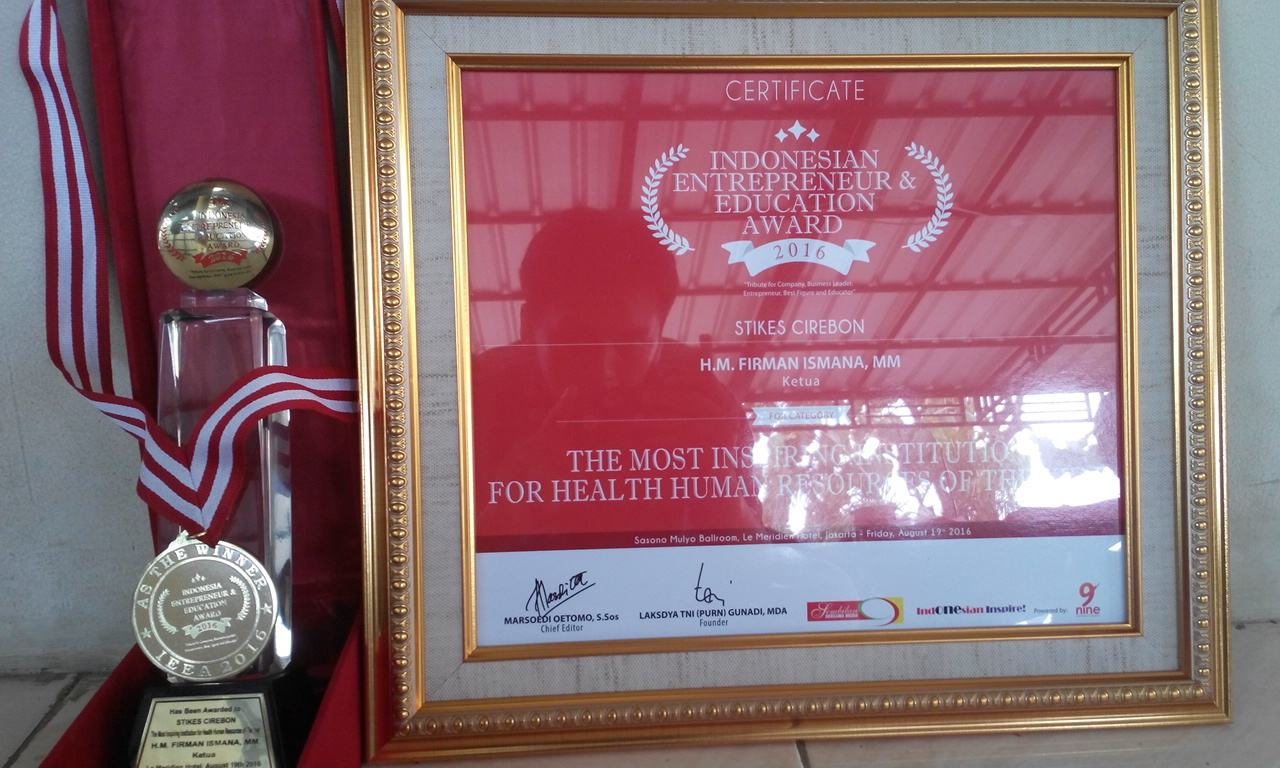 The Most Inspiring Institution for Health Human Resources  of The Year