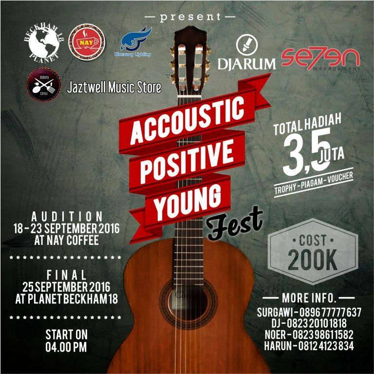 Accoustic Positive Young Fest