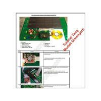Paket Belajar Running Text P10 DIY LED Berjalan Warna MERAH