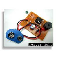 Kit Sensor Suhu NTC Output Buzzer After Solder (AS)