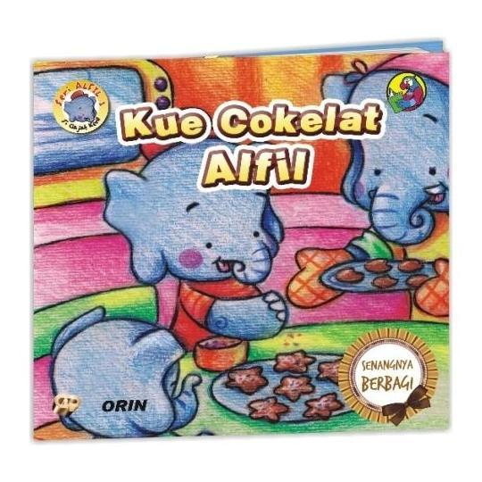 Seri Alfil 1 : Kue Cokelat Alfil, Senangnya Berbagi