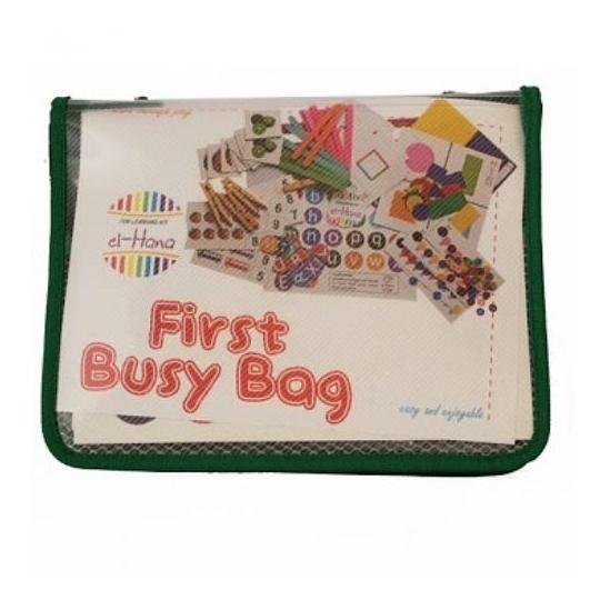 First Busy Bag el-Hana - Mainan Anak Edukatif