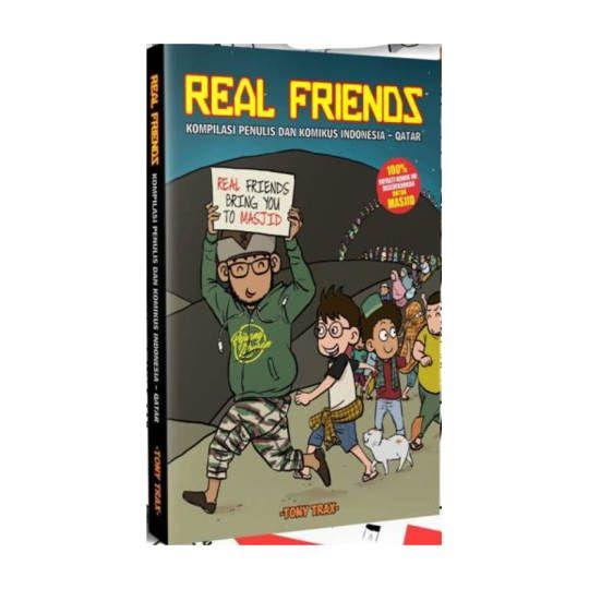 Real Friends : Kompilasi Penulis dan Komikus Indonesia - Qatar