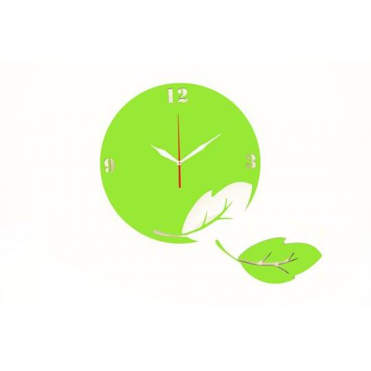 Jam Dinding Artistik Unik - Go Green