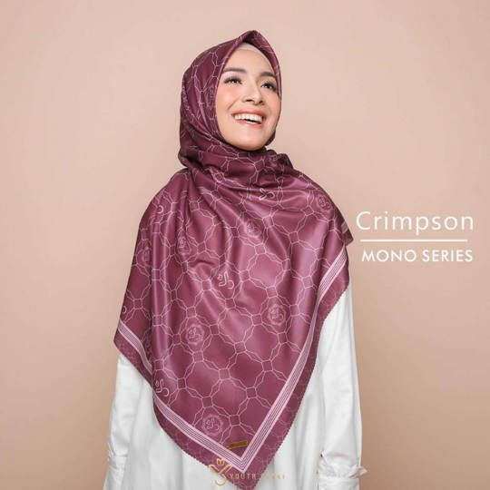 Youthscarf Signature Premium - crimpson ( mono series)