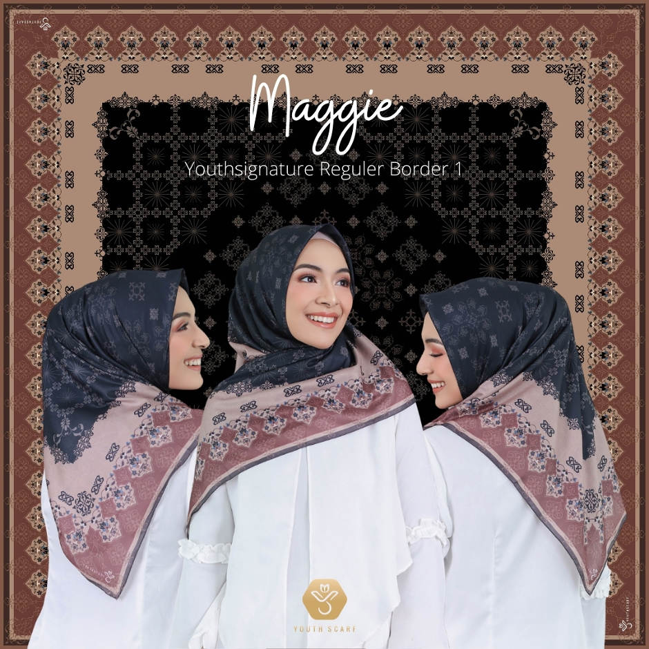 YOUTHSCARF SIGNATURE BORDER 1- MAGGIE