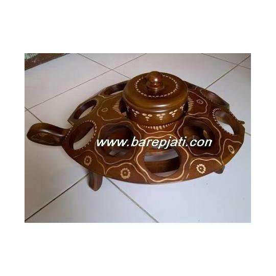 tempat air kura+toples 3 dimensi