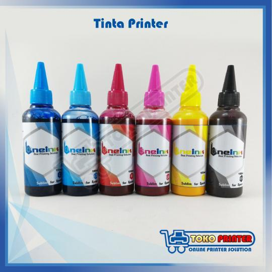 Tinta Sublim One Ink Epson 100ml (1 Set 6 Warna)