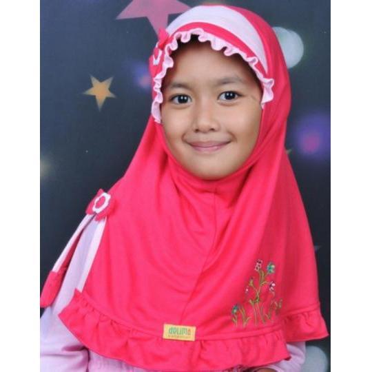 Jilbab Anak Delima - JAB 10A
