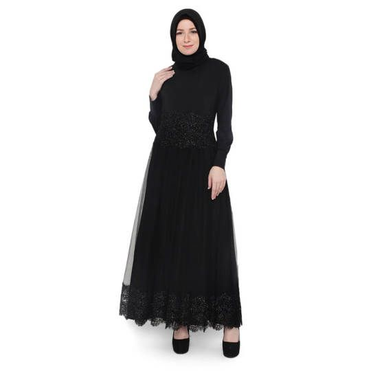 Gamis / Long Dress Kasual Muslimah - JHI 288
