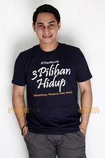 T-shirt 3 Pilihan Hidup The Movie