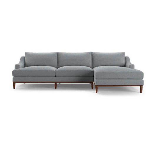 Sofa L kayu