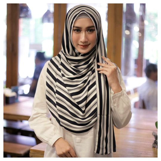 Motif White Stripes