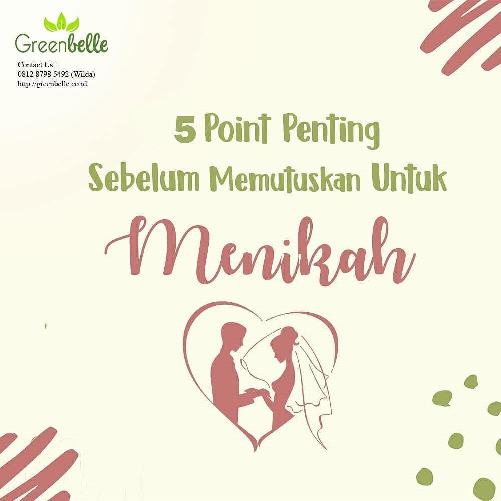 5 Point Penting Sebelum Memutuskan Untuk Menikah