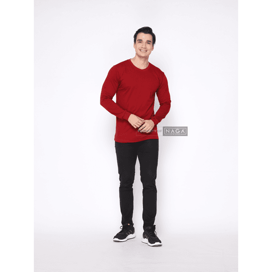 Maroon Red Long Sleeve
