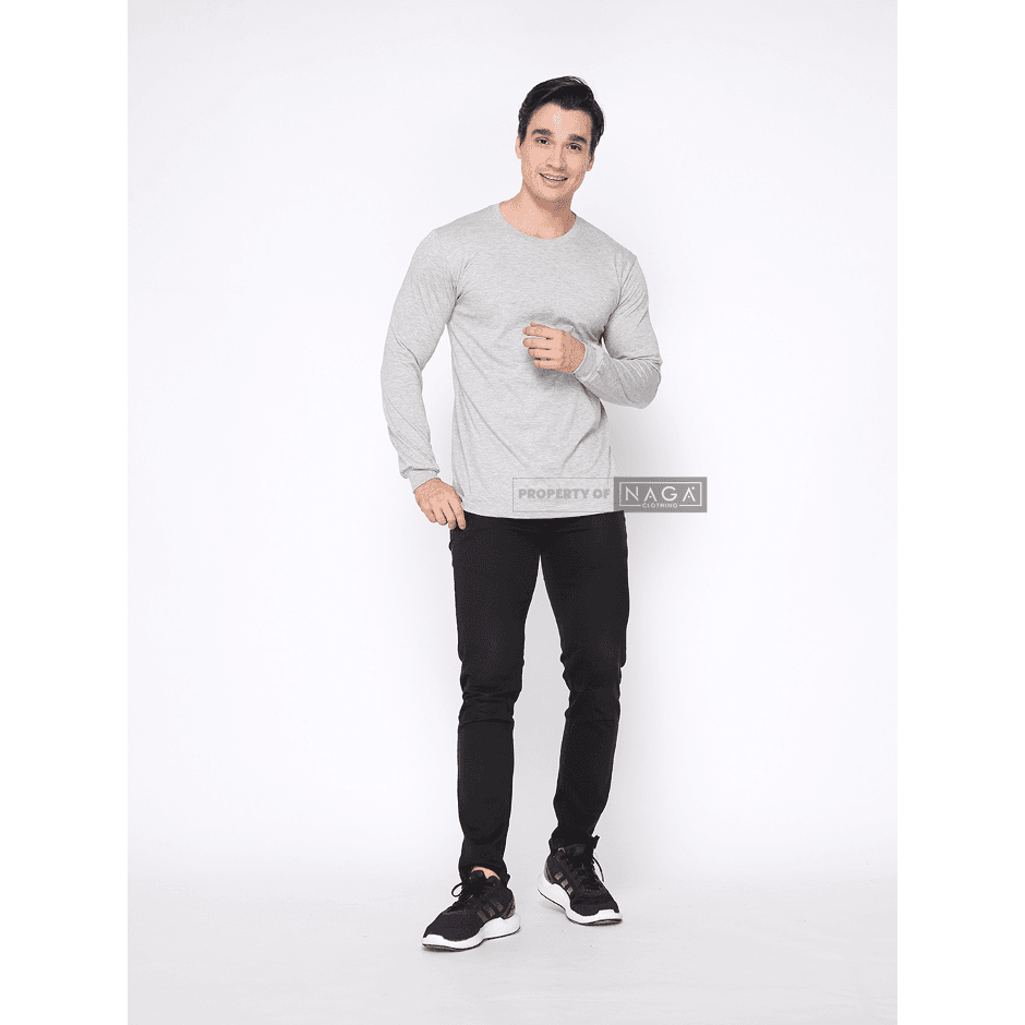 Light Misty Gray Long Sleeve