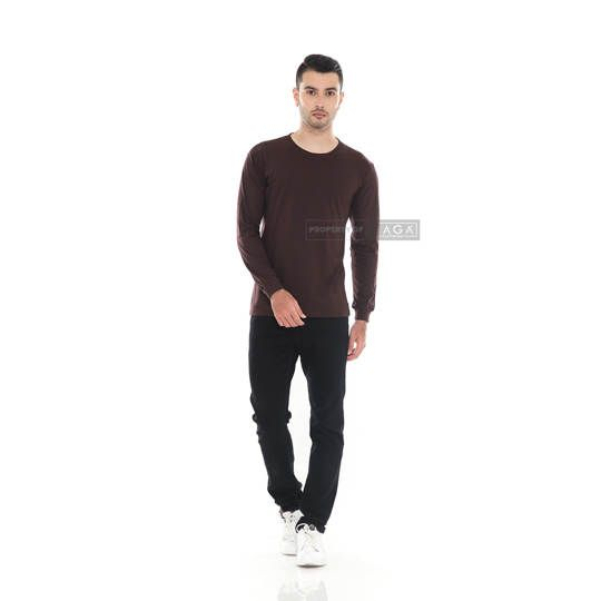 Dark Brown Long Sleeve