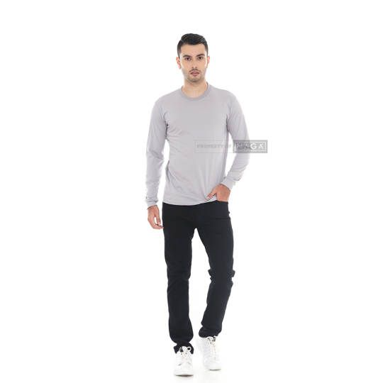 Light Gray Long Sleeve
