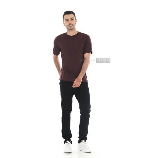 Dark Brown Short Sleeve